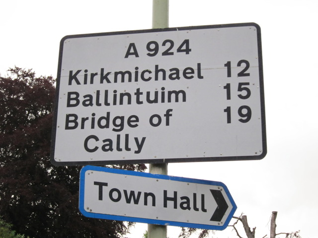Bridge to Cally